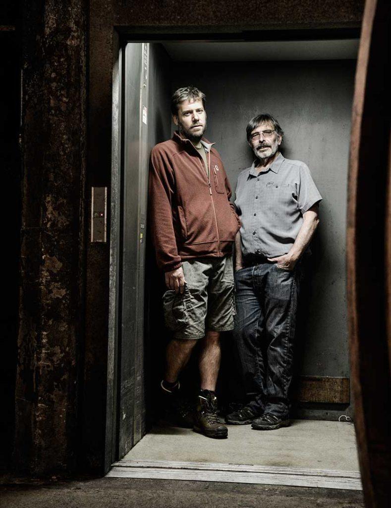 Domaine A. Clape, Pierre et Olivier Clape, Cornas, photo Emmanuel Perrin