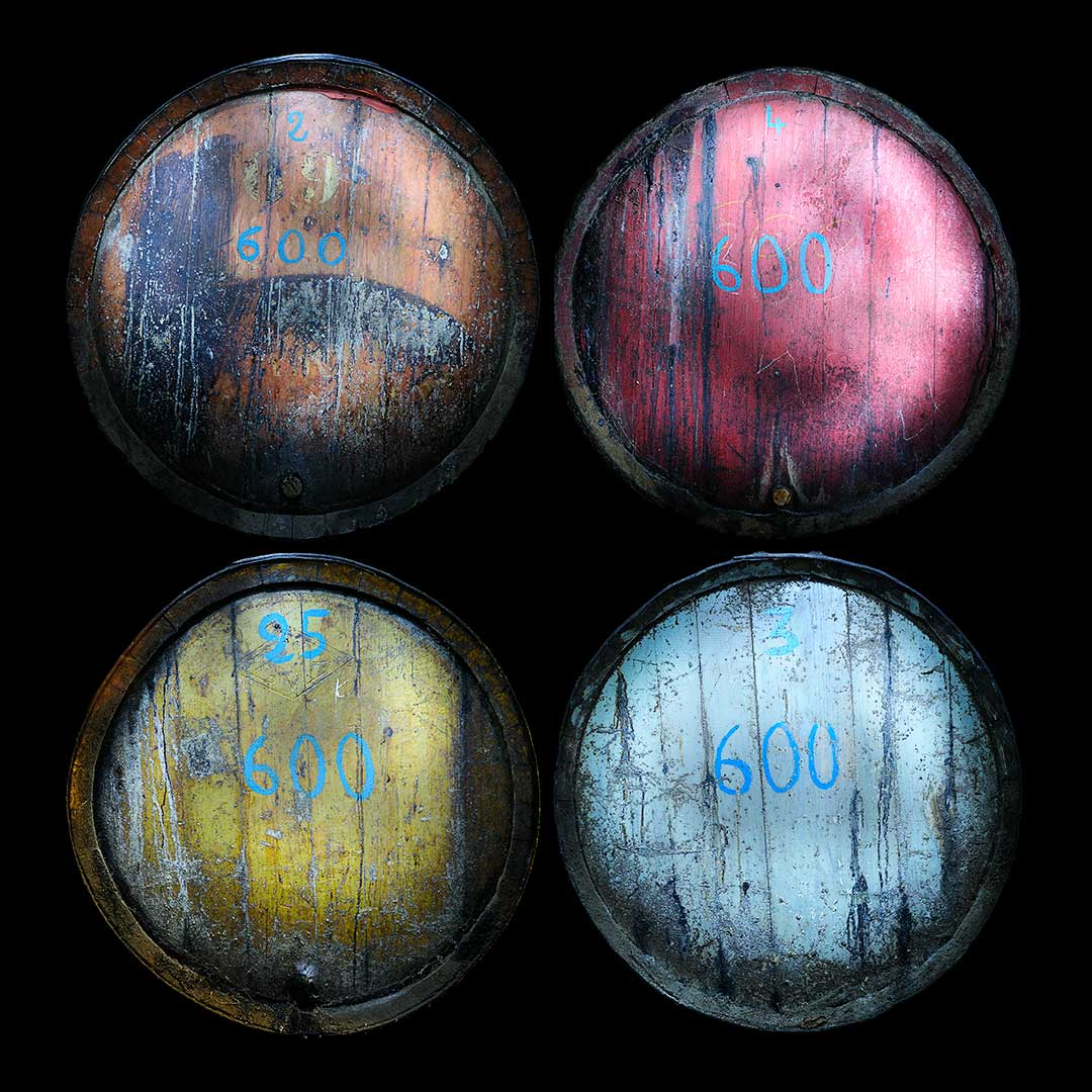 Barriques de rancios, Domaine de Rancy, photo Emmanuel Perrin