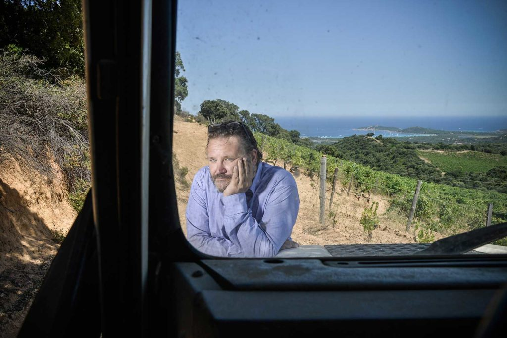 Marc Imbert, domaine Torraccia, Corse du Sud, photo Emmanuel Perrin