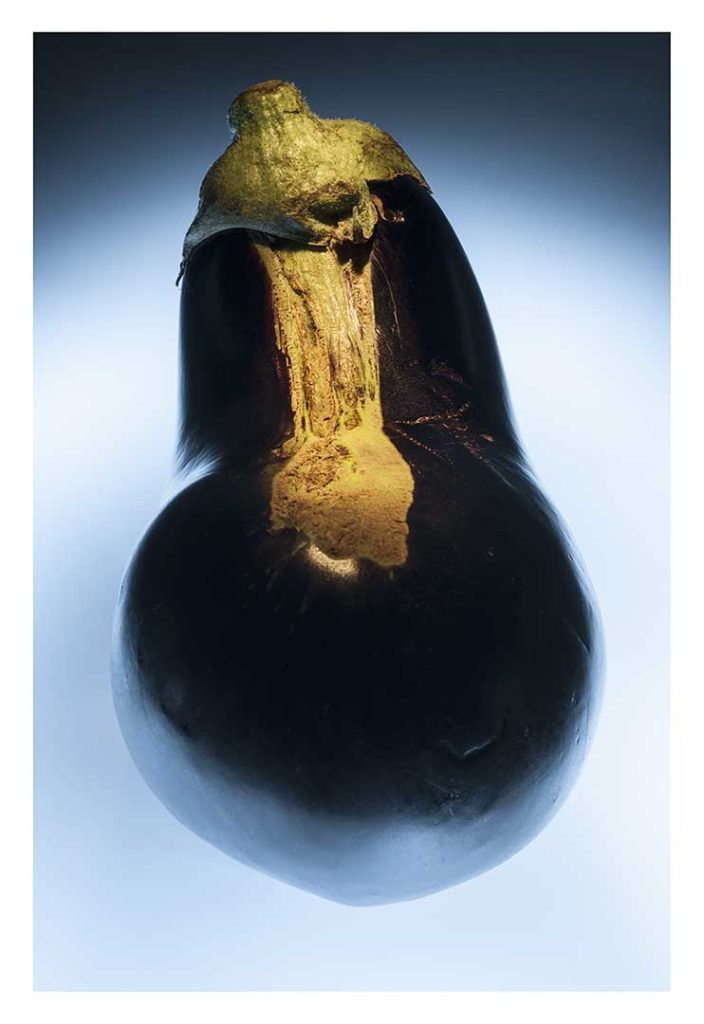 aubergine, bio, photo Emmanuel Perrin