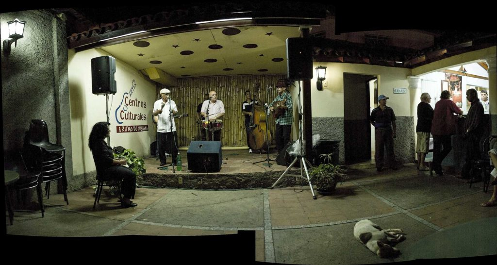 Cuba, club de musique, photo Emmanuel Perrin