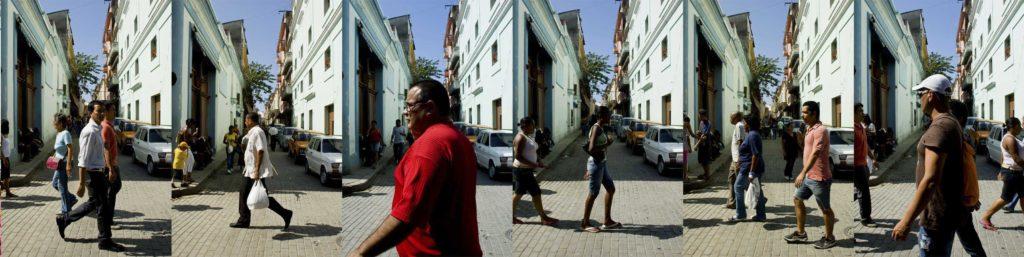 La Havane, scène de rue, photo Emmanuel Perrin